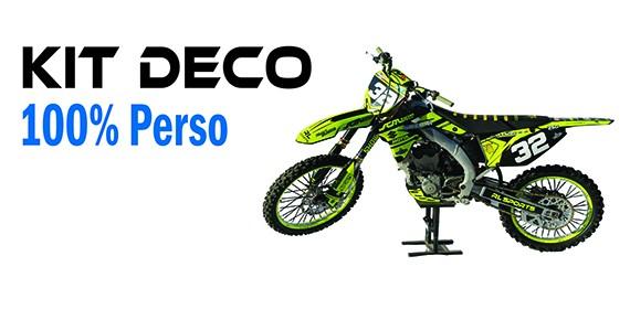 Kit Déco - MOTOCROSS - Kit Déco Complet 100% Perso