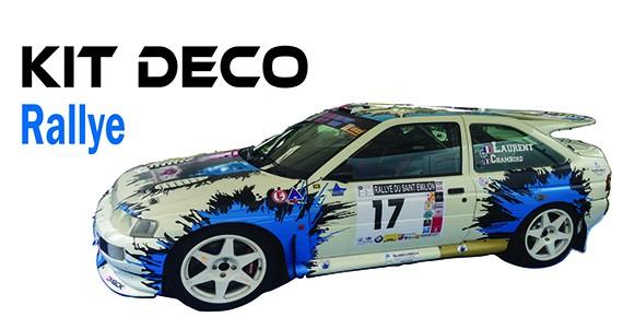 Kit Déco Rallye